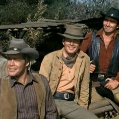 The Virginian - spent many evenings watching this as a kid!