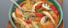 This slow cooked dinner has it all - chicken, vegetables, coconut and Progresso®…