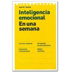 Libro Inteligencia emocional. En una semana - Germán Castro Caycedo - Grupo Planeta  http://www.librosyeditores.com/tiendalemoine/3303-inteligencia-emocional-en-una-semana.html  Editores y distribuidores