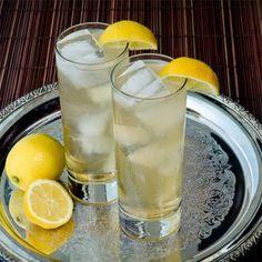 Gin Buck - Gin Cocktail - 1.5 oz Gin - Juice of half a lemon or lime - Ginger ale Garnish: Lemon or lime wedge Glass: Collins