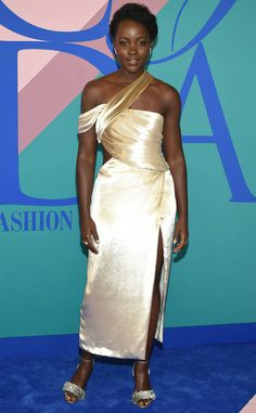 Lupita Nyong'o from CFDA Fashion Awards 2017: Red Carpet Arrivals  Whether it's an award show or fashion event, the Star Wars star is always a crowd favorite thanks to her fashion risks.