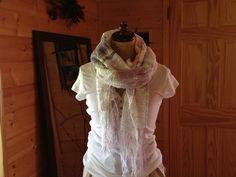 Hand-woven Cotton Stole mana-antique.com