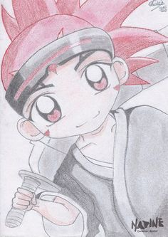 Fanart do personagem Renji do anime Bleach