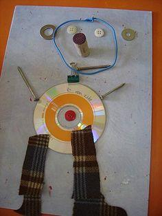 Art from beautiful treasures Kindergarten Art, Preschool Art, La Promenade De Flaubert, Classe D'art, Recycled Art Projects, Trash Art, Ecole Art, Art N Craft, My Themes