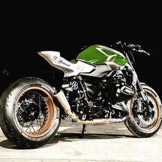 @caferacergram by CAFE RACER   TAG: #caferacergram #   'GOODWOOD 12' BMW R1200R…