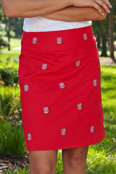 Nc State Red Skirts - Women