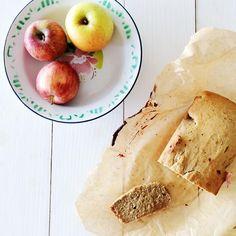 Bolo de maçã fit