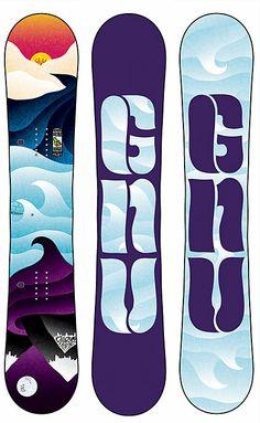 GNU Ladies Choice Snowboard - Women's #ChristySports