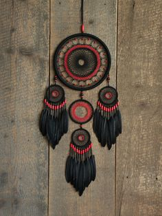 Black dream catcher / Dream catcher / Gypsy by MyHappyDreams