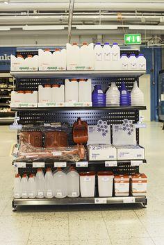 Marjastus hyllynpääty sopii myymälään kuin myymälään ja nostaa myyntiä! Made in Finland