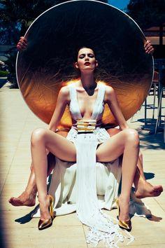 Patrycja Gardygajlo by Zuza & Bartek for PANI July 2012. #fashion #photography