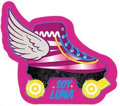 Resultado de imagen de SOY LUNA ROLLERSKATE LOGO Soy Luna Logo, Soy Luna Cake, Twilight Sparkle Costume, 70s Party, Skate Party, Cute Clay, Ideas Para Fiestas, Son Luna, Sister Birthday