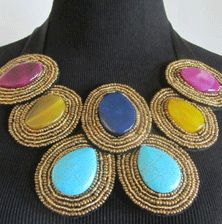 Cayetano Legacy Collection Delia statement necklace - use code CLCPHILLY at checkout for an additional 20% off!