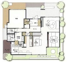 ビーサイエ・インターパーク展示場|栃木県|住宅展示場案内(モデルハウス)|積水ハウス Japanese House, Floor Plans, Flooring, How To Plan, Architecture, Home Decor, Ideas, Arquitetura, Room Decor
