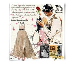 """""""Scarlett O'Hara"""" by wodecai ❤ liked on Polyvore featuring Bomedo, Lanvin and Carvela"""