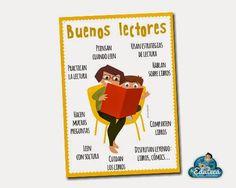 RECURSOS PRIMARIA | Póster de los buenos lectores ~ La Eduteca