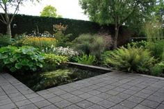 tuin in oud beijerland. Landscape Architecture, Landscape Design, Garden Design, Modern Landscaping, Garden Landscaping, Spiritual Garden, Garden Park, Contemporary Garden, Garden Spaces