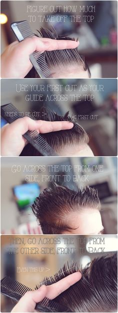 How to cut my boys' hair
