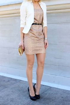 Dress: Forever21 / Jacket: HM, Conscious Collection / Shoes: Buffalo / Belt: 2nd hand / Clutch: 2nd hand