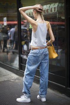 Hanne Gaby Odiele - Model Style File: Hanne Gaby Odiele - Street Chic - Fashion - VOGUE Netherlands