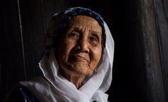 Une femme ethnique de Cham
