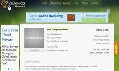 Free Invoice Generator Free Online Invoice Generator Pinterest - Invoice maker online