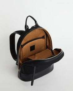 (1) Want Les Essentiels Piper Organic Canvas Leather Medium Black Laptop B – Luxe Fashion Finds Want Les Essentials, Personal Organizer, Leather Keychain, Laptop Backpack, Canvas Leather, Design Trends, Fashion Backpack, Dust Bag, Shoulder Strap