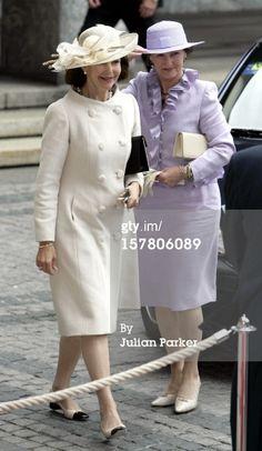 News Photo: Queen Sonja Crown Prince Haakon Crown Princess Mette…