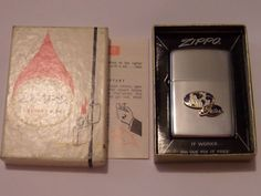 VINTAGE ZIPPO GATES LOOKS NEW IN BOX