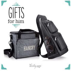 Thirty-One Gifts – Guys LOVE the Sling Back Tote! #ThirtyOneGifts #ThirtyOne #Monogramming #Organization #August2017Special #SaveBig #CinchSac #EssentialStorageTote #SlingBackTote