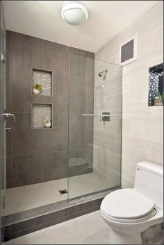 Trendy Bathroom Small Remodel Before And After Showers Apartment Therapy Bathroom Tile Designs, Bathroom Layout, Modern Bathroom Design, Bathroom Interior, Bathroom Ideas, Shower Ideas, Shower Designs, Bath Design, Modern Bathrooms