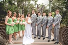 """Central Florida Wedding and Portrait Photographer.   The perfect location makes all the difference when planning the perfect wedding!  Check out this beautiful wedding at the Brevard County Zoo.   """"Like"""" us at www.facebook.com/jeffcarrphotography so you can get more ideas for your wedding day!"""