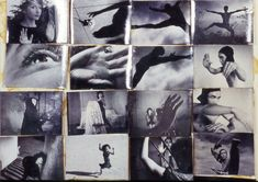 © MAYA DEREN - Grid of film stills assembled by Deren from Meshes of the Afternoon, Choreography for Camera, At Land, and Ritual in Transfigured Time Conceptual Photography, Art Photography, Experimental Photography, Thriller, Science Fiction, Photoshop, Photo Story, Portraits, Film Stills