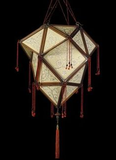 Silk Fortuny lamp Favorita
