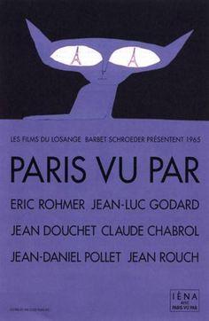 Paris vu par…, Rohmer, Chabrol, Godart, Rouch, Douchet, Pollet - 1965