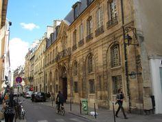 Street in Marais district, #Paris #France. Photo by Carly Carson.