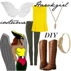 This is how i would do a hawkgirl costume