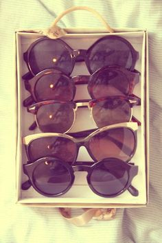 If you MUST have options to change your look, pack multiple pairs of #sunglasses. They are small, light and won't take up much real estate in your luggage.