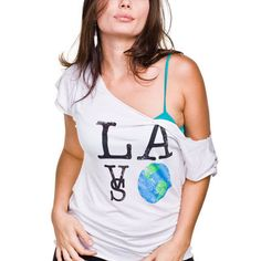 City Brands Clothing  Women's SIGNATURE Boyfriend T in Dirty White 29.99