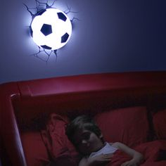 3D Lamp - Voetbal