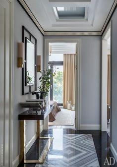 Decor house modern entrance ideas for 2019 Luxury Home Decor, Luxury Interior, Modern Interior Design, Interior Architecture, Luxury Homes, Interior Sketch, Nordic Interior, Interior Lighting, Kitchen Interior
