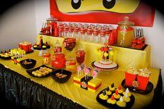 Lisa's Busy Little Life: ninjago party