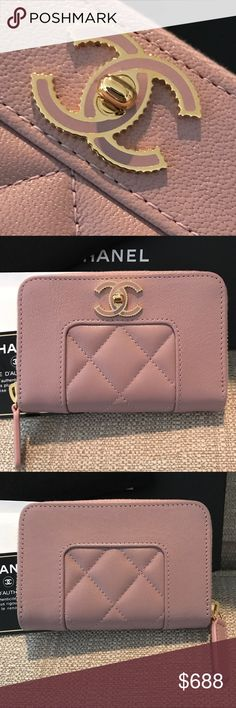 131f907056b7 Chanel Card/Coin Wallet Chanel Mademoiselle in excellent condition. This wallet  is