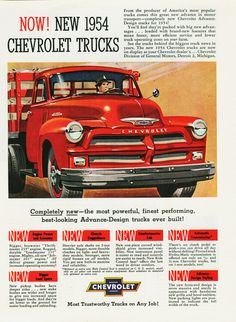1954 Chevrolet Truck Ad-01