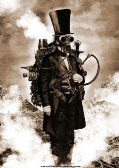 「 スチームパンクアート★ロックと蒸気とガスマスク! 」の画像|Chaos of pandora Blog|Ameba (アメーバ)