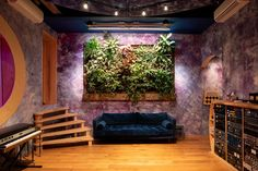 Greenery Unlimited | Electric Garden Recording Studio, Tropical Plants, Greenery, Minimalism, This Is Us, Interior Design, Wall, Garden, Electric