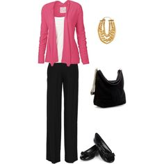 Cute in Pink, created by #eclecticeducation on #polyvore. #fashion #style Fat Face Alexander McQueen