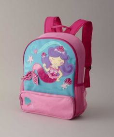Girls Mermaid Backpack - exclusively ours - Without pockets, a mermaid  needs a fun backpack
