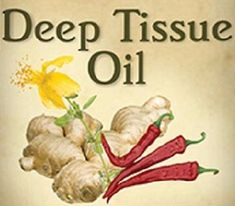 DEEP TISSUE OIL for Sore Joints & Muscles 100% Natural Warming Massage USA