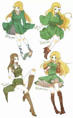 The Legend of Zelda | Zeldas